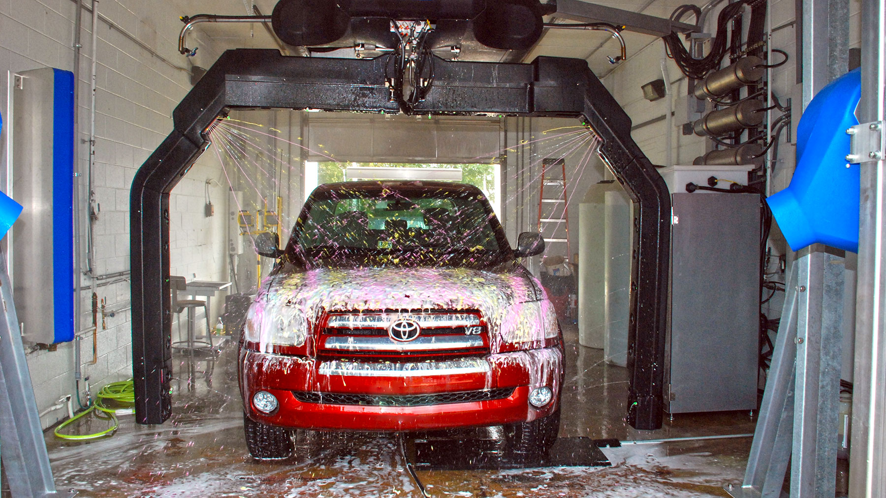 Automatic Car Wash Machine market