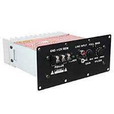 global truck amplifier market